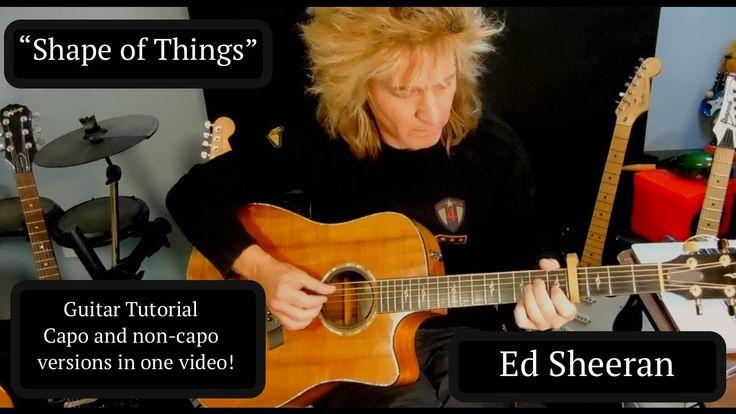 """Ed Sheeran """"Shape Of You"""" Guitar Tutorial - YouTube"""