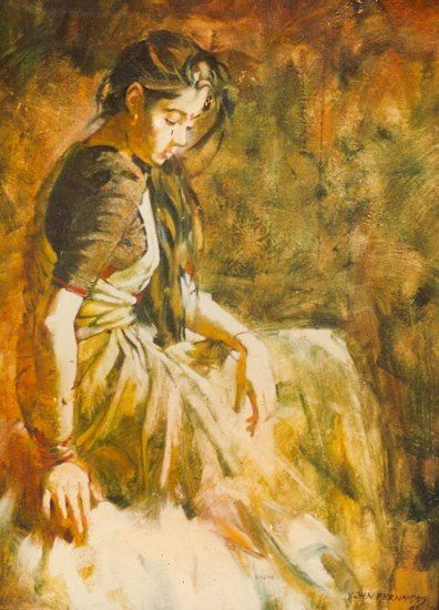 Artist John Fernandes Paintings