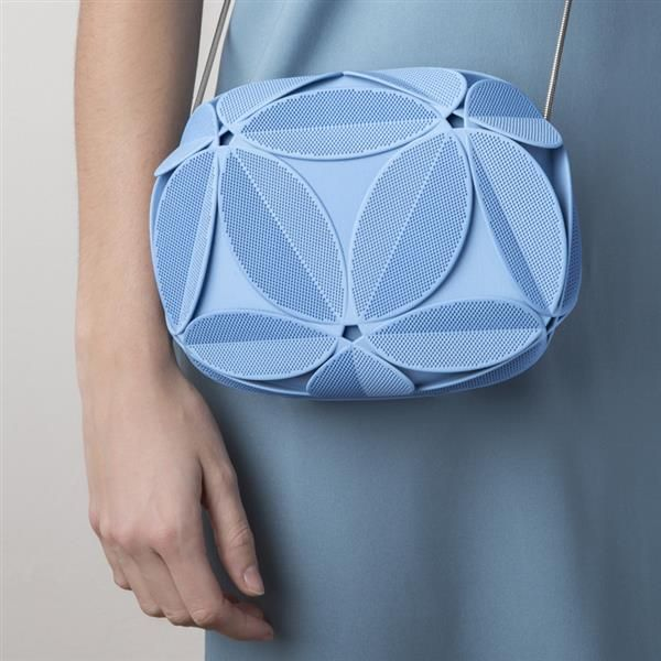 3ders.org - Maison 203 and Odo Fioravanti unveil new, geometrically inspired 3D printed clutch   3D Printer News & 3D Printing News