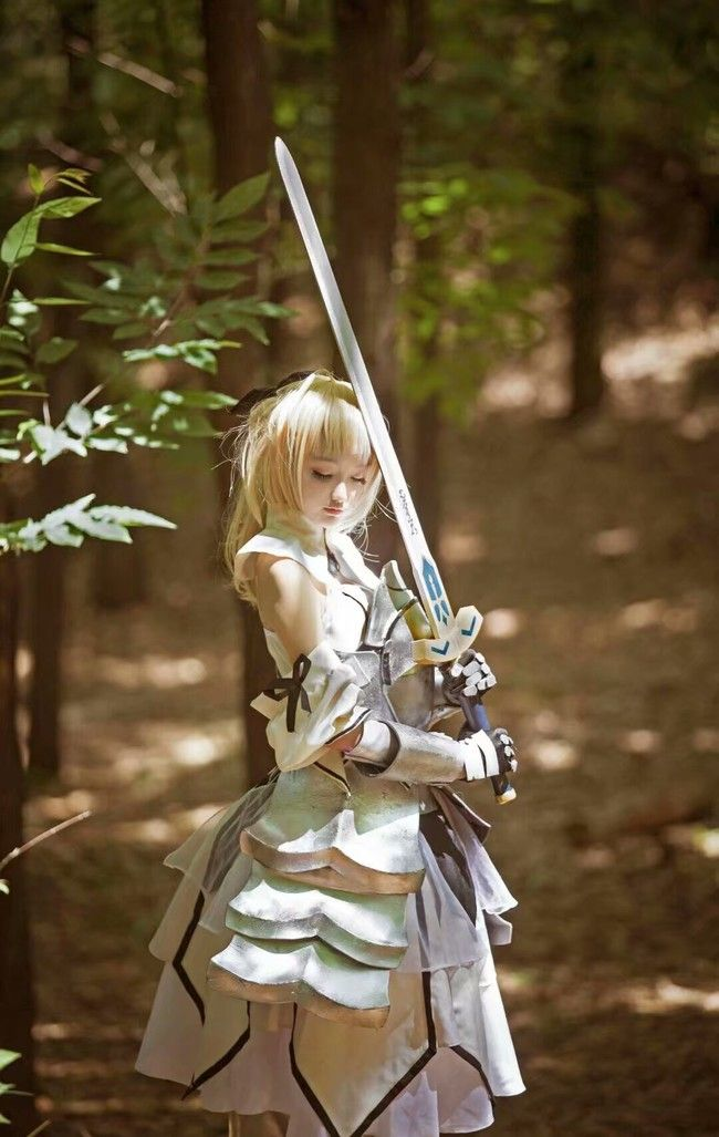 Fate / Zero Alto La Pandragon Cosplay | Half Temporarily - First Chinese COS Paintings Fiction Community