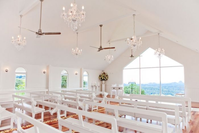 Tiffany's Wedding Chapel - Weddings At Tiffanys Function Centre Maleny Sunshine Coast Hinterland