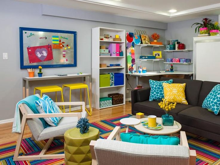 24 Child Friendly Finished Basement Designs
