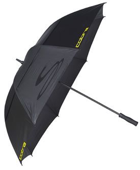 Cobra Golf Double Canopy Umbrella Cobra Golf Double Canopy Umbrella available now from UKs most visited online golf shop. http://www.comparestoreprices.co.uk/golf-balls-and-other-equipment/cobra-golf-double-canopy-umbrella.asp