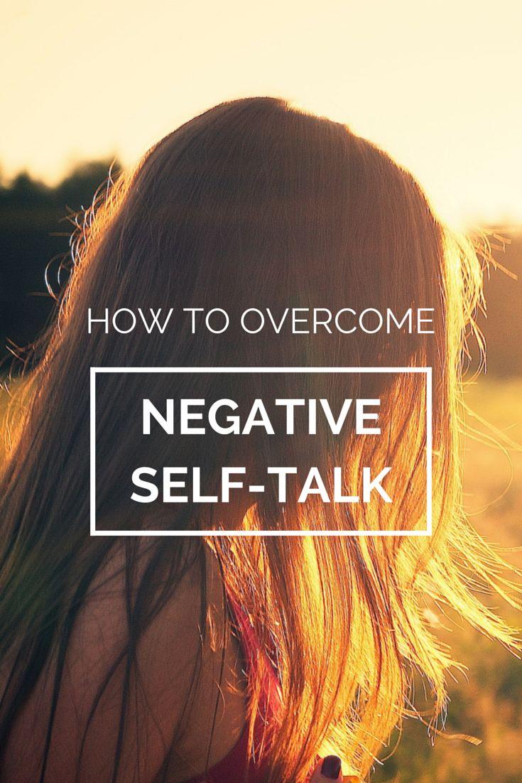 How to overcome negative self-talk