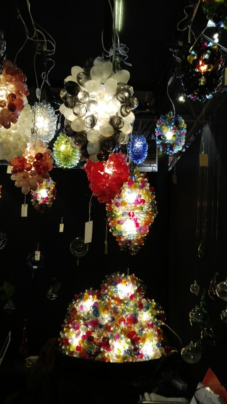 Colourful lights by La Maison D'Alep/Tagua and Co [#maisonobjet September 2013]