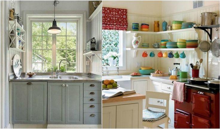 9+1 μικρές κουζίνες Ιδέες που θα τις κάνουν λειτουργικές. #jennygr