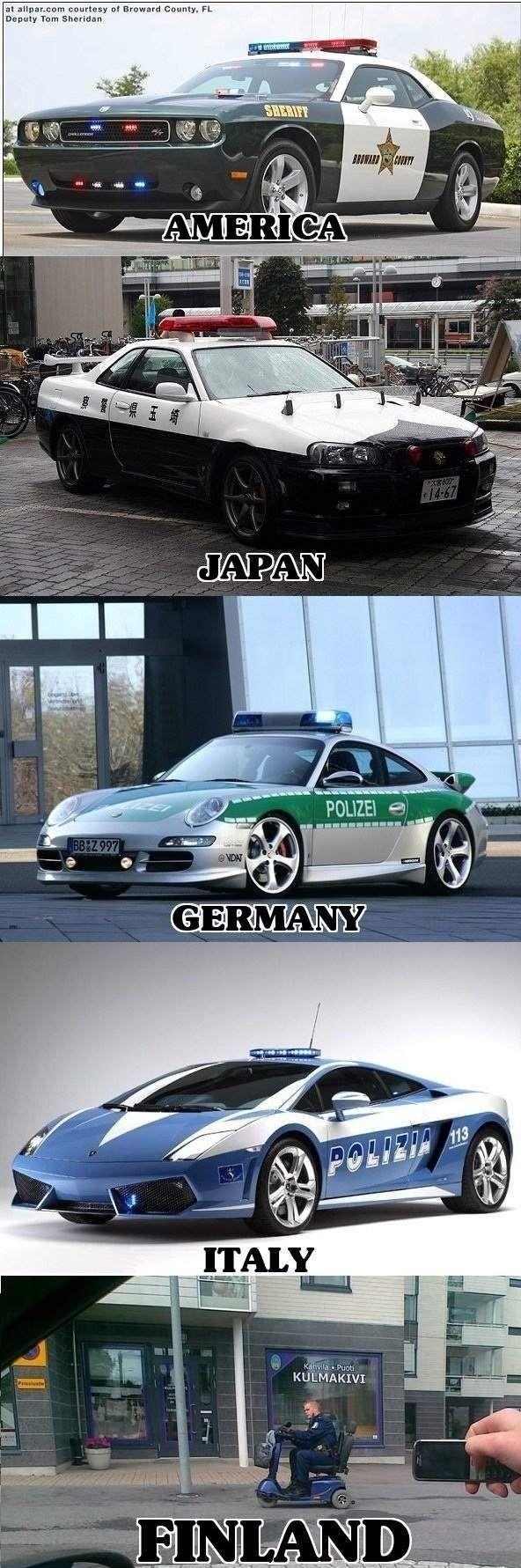 Police car !!!