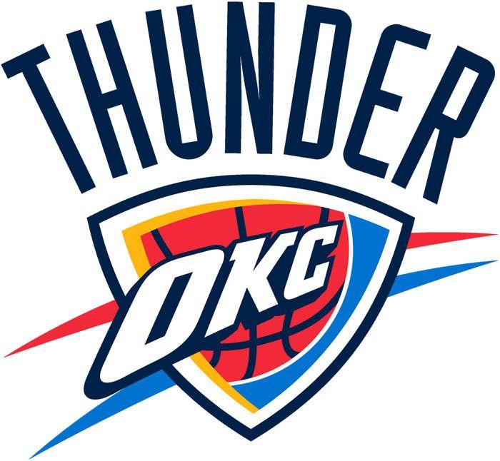 Oklahoma City Thunder Colors Hex Rgb Oklahoma City Thunder Logo Oklahoma City Thunder Okc Thunder
