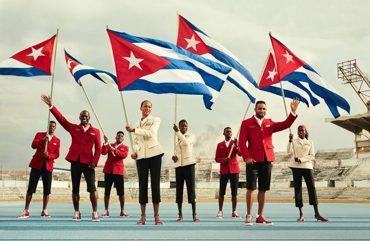 Christian Louboutin is Outfitting Cuba's Olympic Team and They Look Fly as Hell  -----------------------------------------  #stylefile #fashionaddict #stylish #fashionista #fashionstyle #styleinspiration #fashionlover #rio #olympics