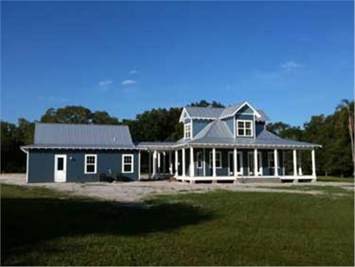The sanibel is a classic florida cracker beach residence for Florida cracker house plans wrap around porch