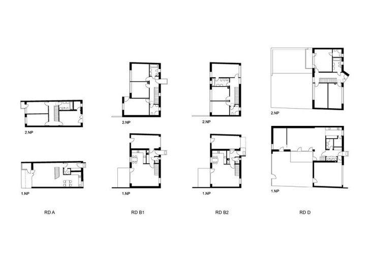 UNIT architekti | soubor rodinných domů, Husinec