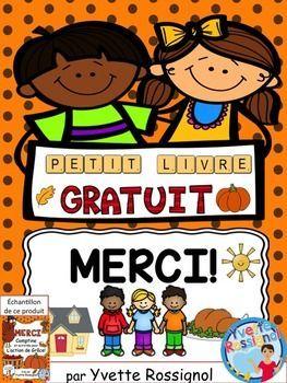 MERCI! (Petit livre pour dire MERCI) Action de Grâce, Grat