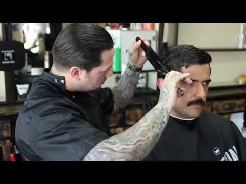 Razorbacks Barber shop in Los Angelus, CA. Video is awesome.