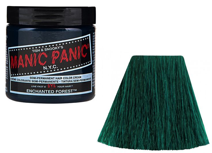 Manic Panic Enchanted Forest #tinte #fantasia #hairdye #verde #green #xtremonline