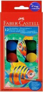 Faber-Castell Vodové farby 12 farebné