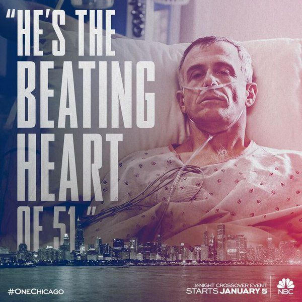 Herrmann #OneChicago Just saw this episode of Chicago Fire. I cried. I love Hermann.