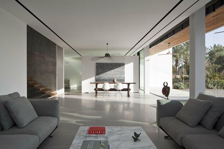 Living room - house-in-kfar-shmaryahu