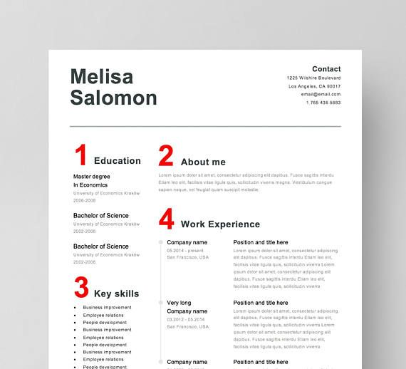 Best Creative And Professional Resume Templates Images On