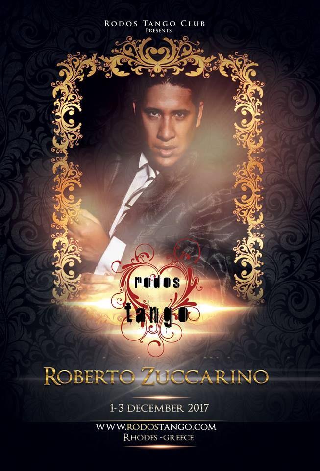 """Για 1η φορά στη Ρόδο! Rodos Tango Leader workshop με τον Roberto ZuccarinoΣύντομα περισσότερες πληροφορίεςΔιοργάνωσηRodos Tango Club - Rodostango.com""""where the heart of tango beats..."""" ..."""