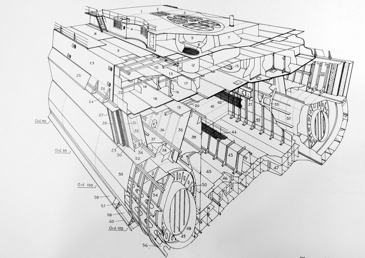 17 best images about ship schematics cutaways diagrams on boats cross section
