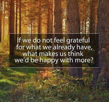 The gratitude choice - it draws in greater abundance and increases your sense of well being
