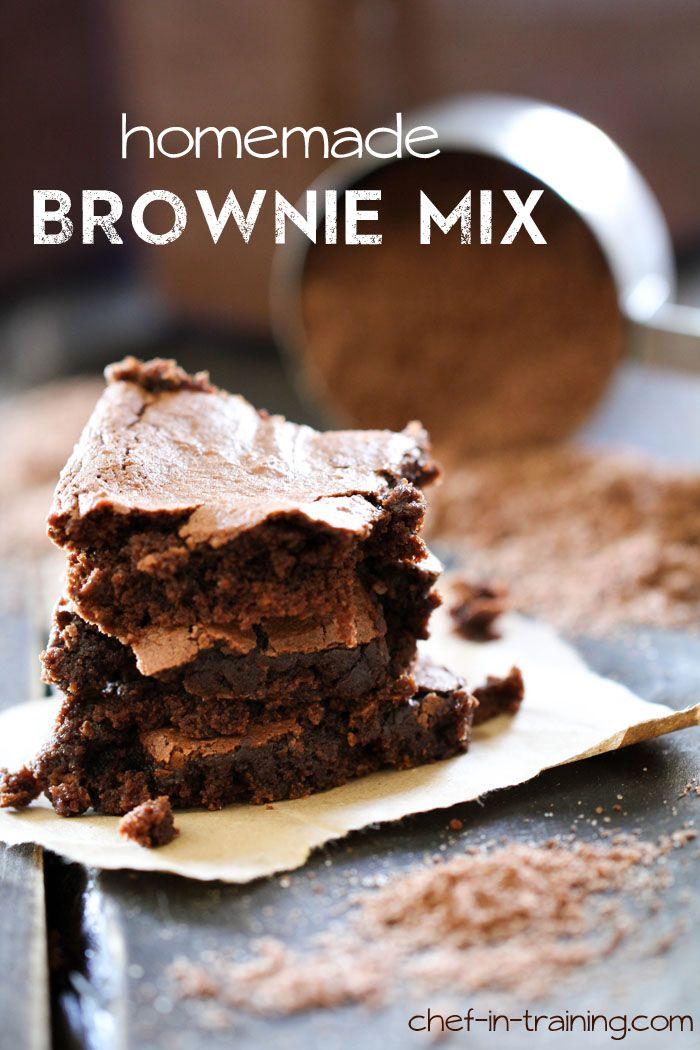 Homemade Brownie Mix