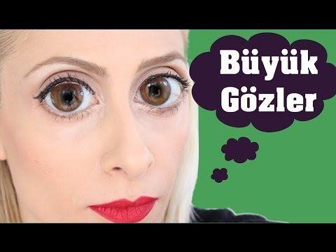 Küçük gözleri büyük göstermek için 8 makyaj ipucu | Cilt Sitesi