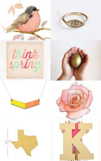Spring and summer! by Kasia on Etsy--Pinned with TreasuryPin.com