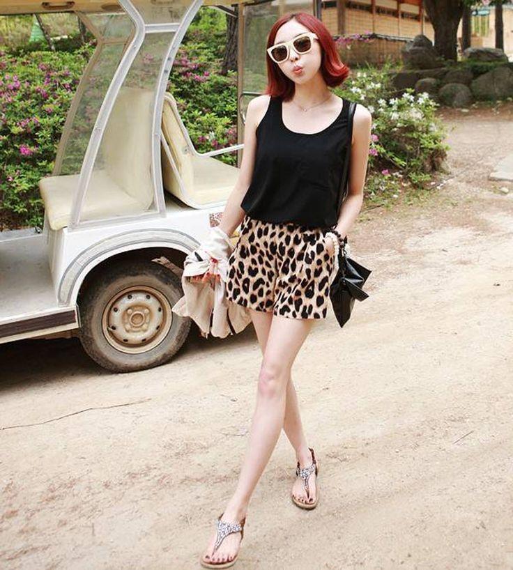 2015-Summer-Fashion-Womens-Sexy-Casual-Elastic-Waist-Shorts-Leisure-Leopard-Print-Shorts-Size-S-M.jpg (750×834)