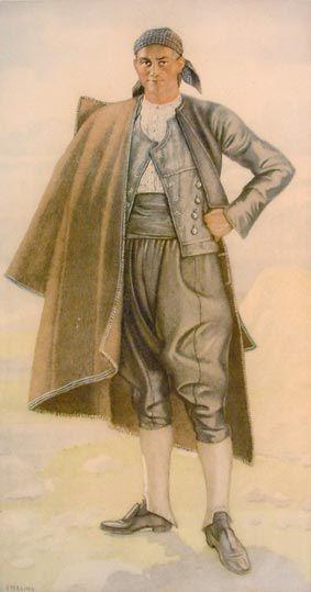 #78 - Man's Costume (Ionian Islands, Lefkas)