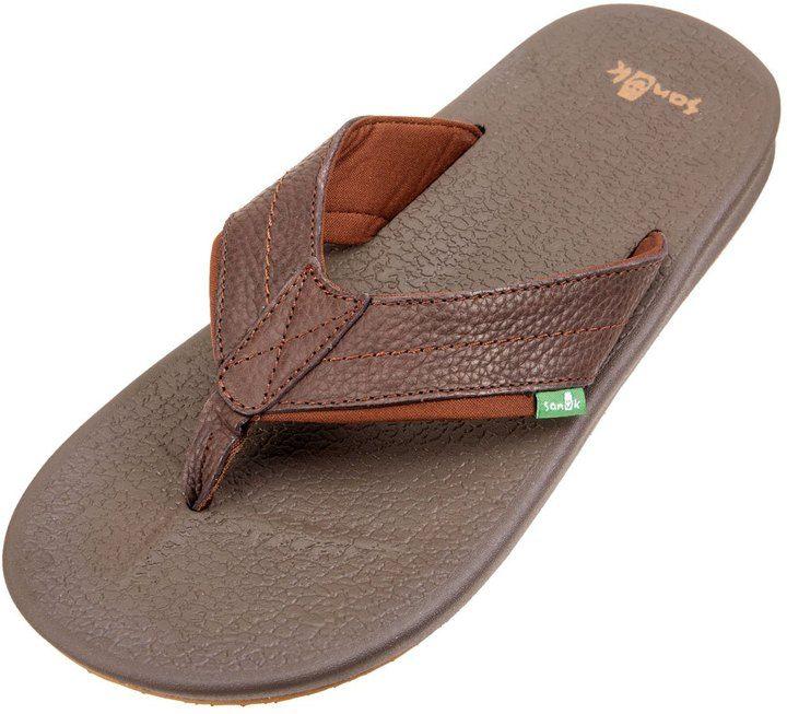 Sanuk Men's Brumeister Primo Flip Flop 8157198