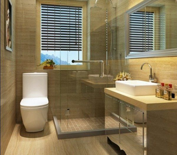 Simple toilet design home decoration for Simple bathroom designs for small bathrooms