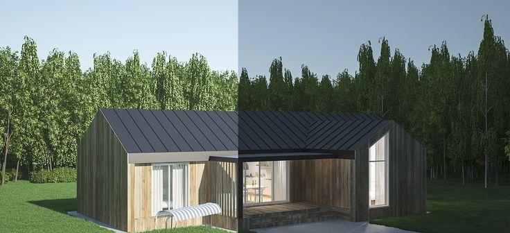 Каркасно-модульные дома для круглогодичного проживания.  Собственное производство по современным технологиям. Покупка дома в рассрочку.
