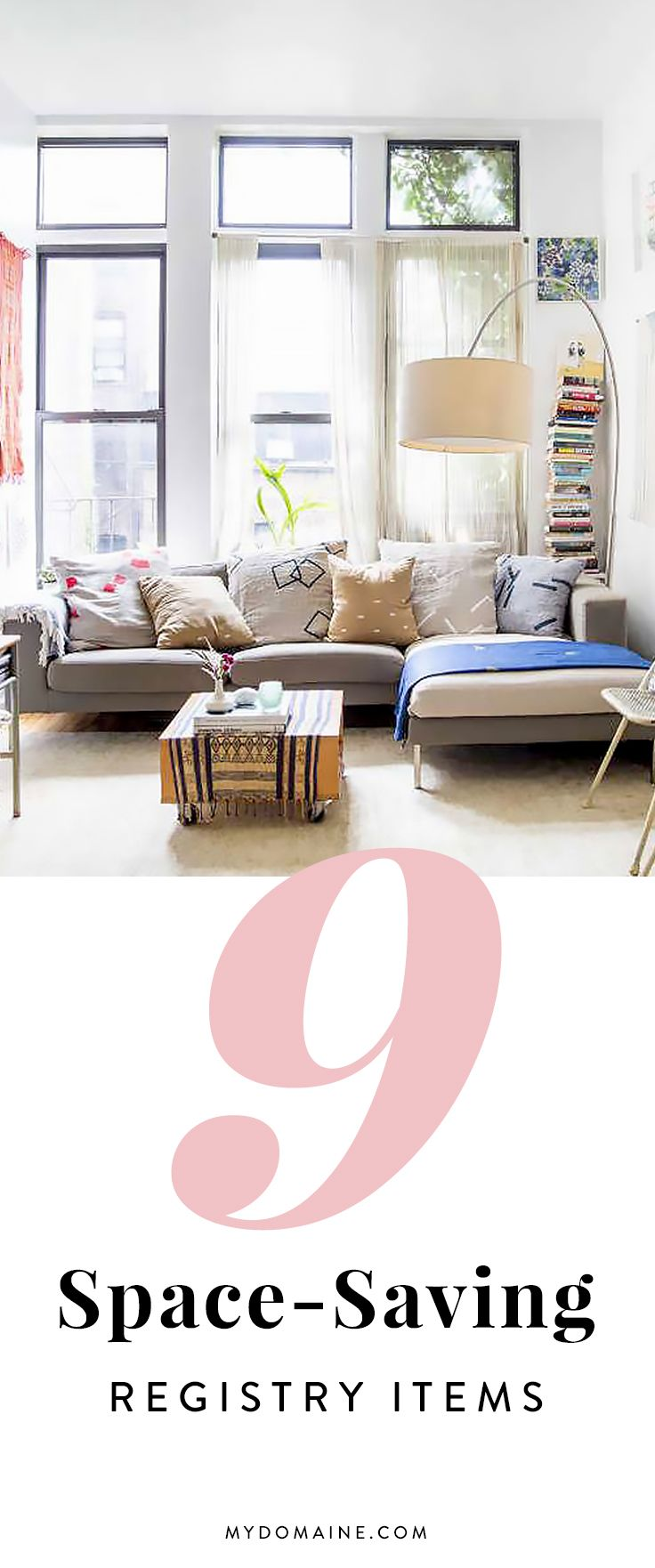 9 space saving essentials that won 39 t cramp your style for Small room essentials