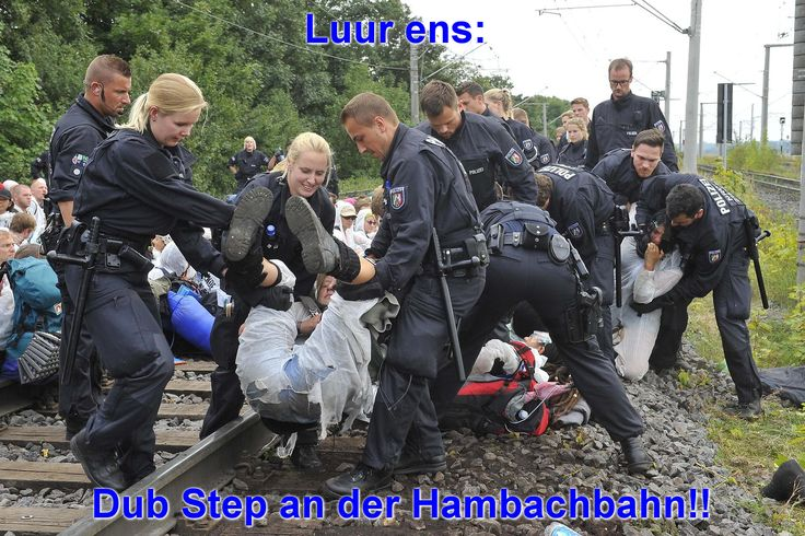 Double In / Double Out! ;-) #DubStep #Hambachbahn #RWEPower