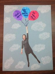 Have students write their speech goals in the balloons at the beginning of the year!
