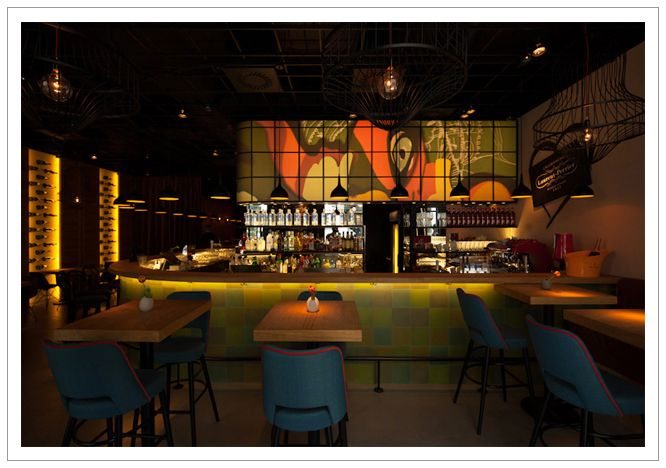 design, best tapas bar in Budapest, by MHdesign