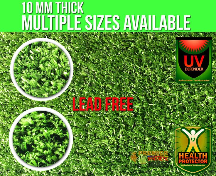 New Synthetic Grass 10mm Tanami  $9.99 per sqm Artificial Lawn Garden Mats