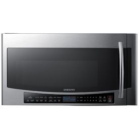 Samsung 1.7-Cu Ft Over-The-Range Convection Microwave And Speed Cook (Stainless Steel) (Common: 30-In; Actual: 29.875-In