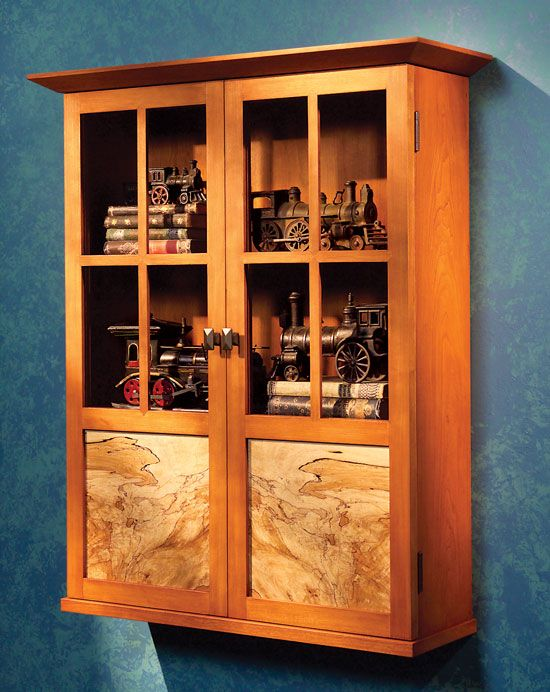 modern mission cabinet woodworking projects american woodworker - Tool Cabinets