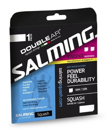 When Salming set out to design and build Salming squash rackets they required a unique high quality technical string.