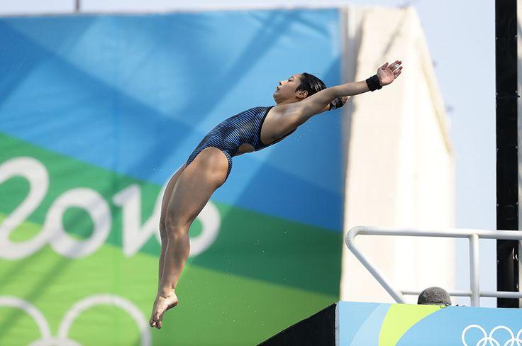 大会前には、「飛び込み界を変えたい!」と発言していた板橋。「東京五輪では金を目指します」と宣言した。