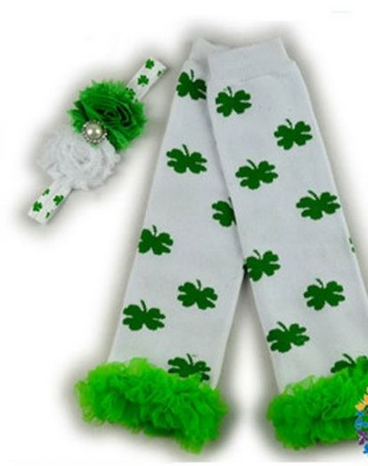 Leggings & Baby Headband for St. Patrick's Day!! On Amazon!!  So Adorable!!  http://simpleethrifty.com/baby-headband-st-patricks-day-amazon/