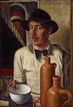 Dick Ket (1902-1940) was een Nederlandse kunstschilder. Aanvankelijk maakte Ket in een impressionistische stijl landschappen en stillevens, met brede penseelstreek en paletmes. Rond 1930,  ging zijn gezondheid achteruit. Dit is ook de tijd dat hij veranderde van stijl, van impressionistisch naar een meer magisch-realistische schilderstijl.
