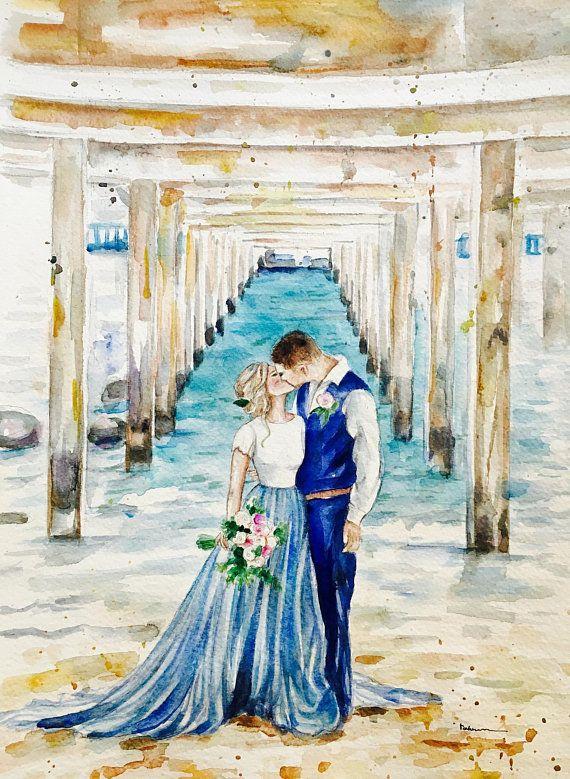 жених и невеста картинки акварелью ничего имею против