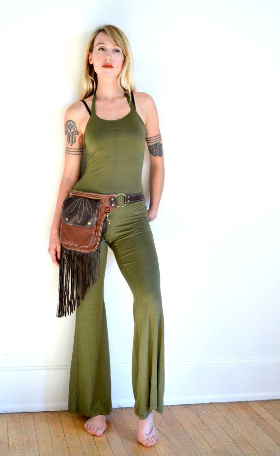 Fringe Fanny Pack Western Hip Bag Western by RevivallClothing