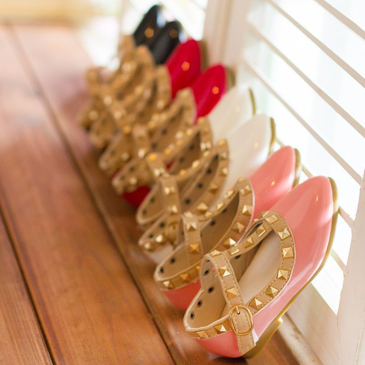 Hot Children Shoes For Girls,Rivets Princess Girl Sandals Kids Leather Shoes Toddler Girl Sandals Girls Shoes Size Eu20-34