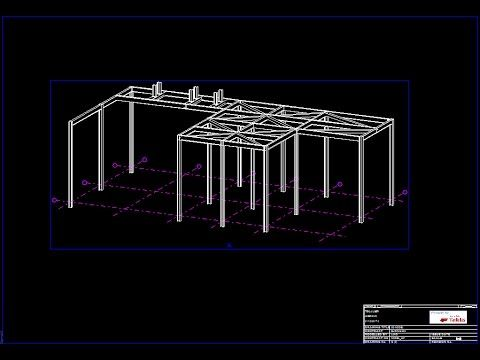 Tekla Structures 2016_Create GA drawing