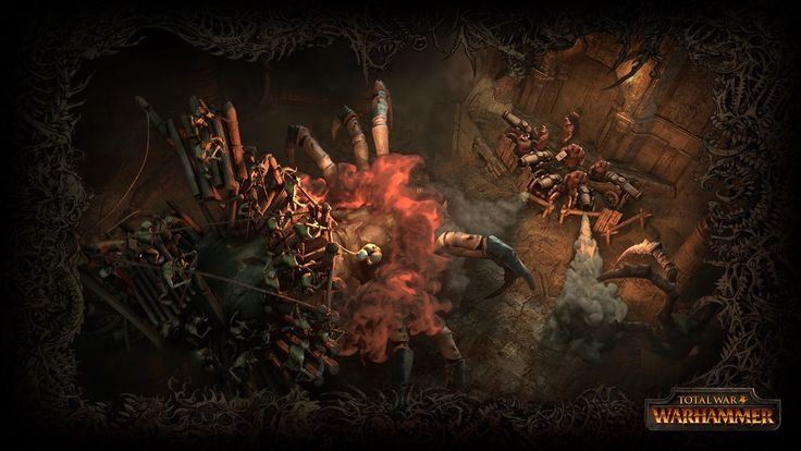 Just a few days after releasing the first trailer for Total War: Warhammer, Creative Assembly comes with new details regarding some playable factions from their upcoming RTS/TBS game. The playable factions will include the Orks, the Goblins, the Dwarfs and the Vampire Counts, while the Empire is still listed as an unplayable faction. Chaos will be more of a background threat in the plot of the game, in the style of an NPC faction.