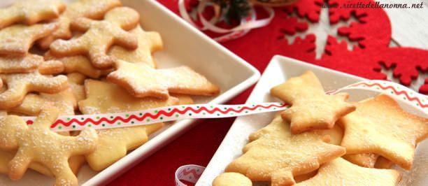 ricetta biscotti Natale